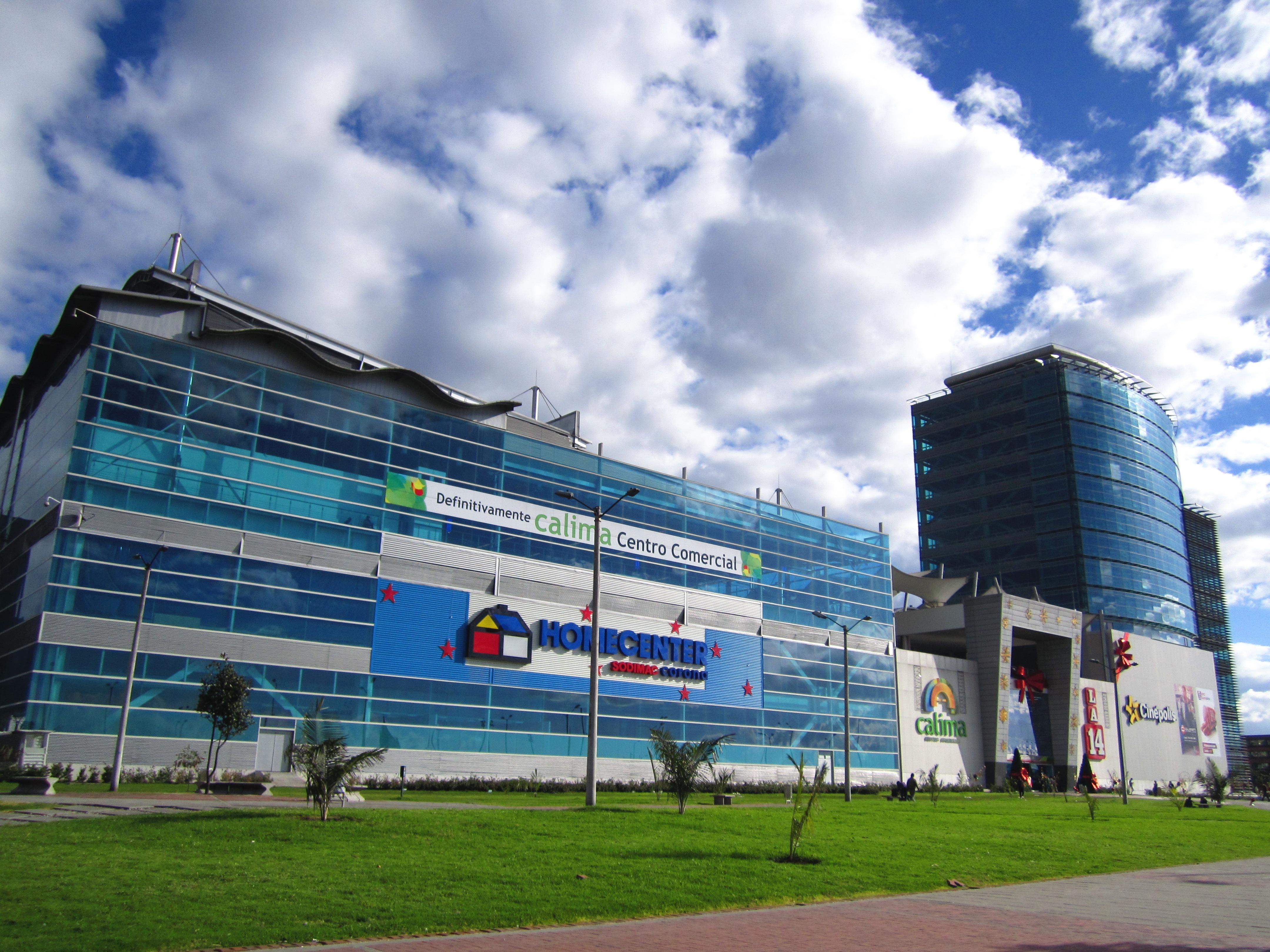 Centro Comercial Calima La 14 Bogotá.