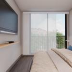 Cuarto principal apartamento tipo B