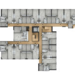 Planta pisos 2 al 5